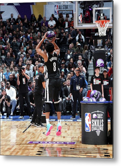 Event Metal Print featuring the photograph Spencer Dinwiddie by Nathaniel S. Butler