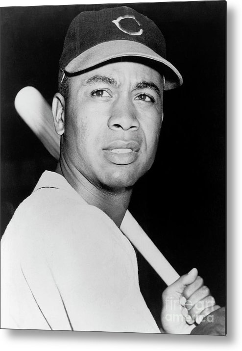 American League Baseball Metal Print featuring the photograph Larry Doby by National Baseball Hall Of Fame Library