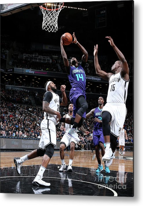 Nba Pro Basketball Metal Print featuring the photograph Michael Kidd-gilchrist by Nathaniel S. Butler