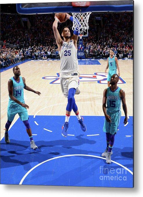 Nba Pro Basketball Metal Print featuring the photograph Ben Simmons by Jesse D. Garrabrant