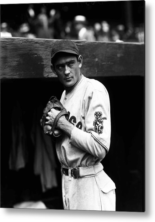 National League Baseball Metal Print featuring the photograph Chicago Cubs by The Conlon Collection