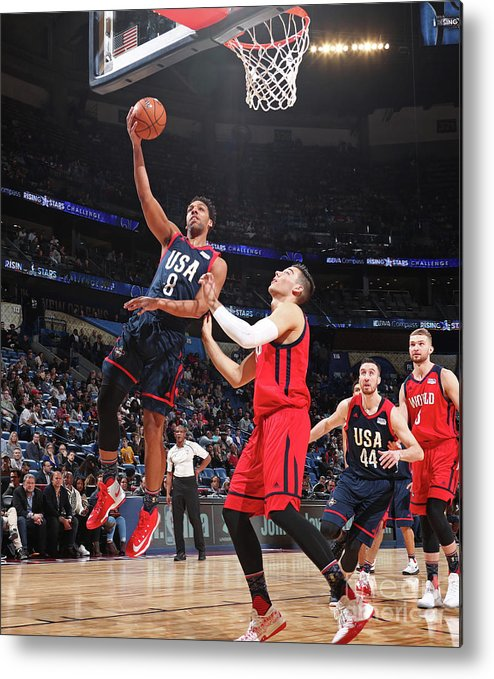 Event Metal Print featuring the photograph Jahlil Okafor by Nathaniel S. Butler