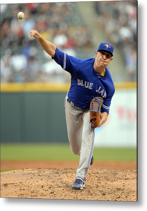 People Metal Print featuring the photograph Aaron Sanchez by Ron Vesely