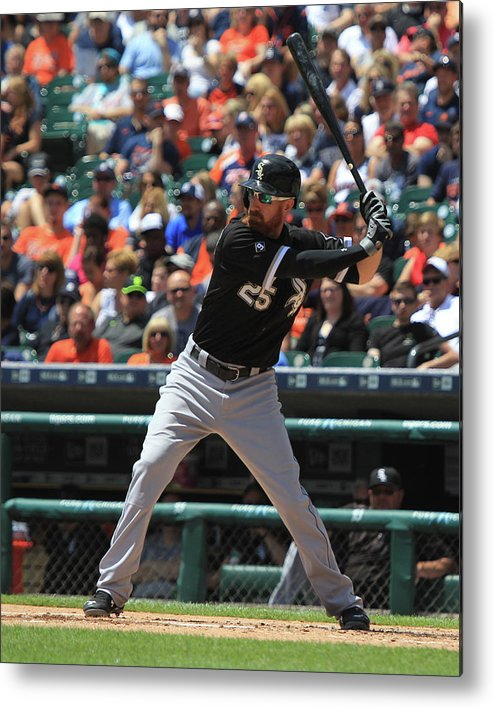 Adam Laroche Metal Print featuring the photograph Adam Laroche by Dave Reginek