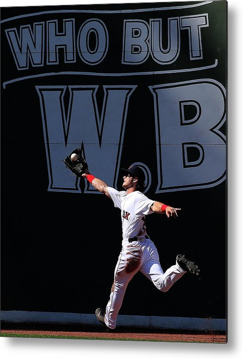 People Metal Print featuring the photograph Andrew Benintendi by Jim Rogash