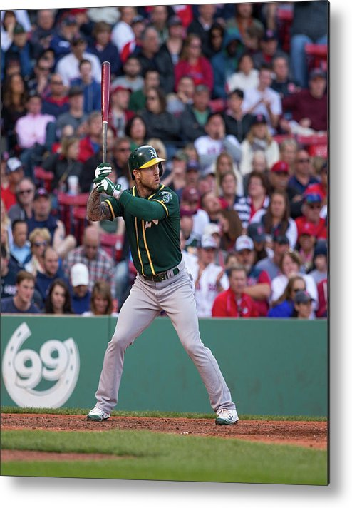 People Metal Print featuring the photograph Brett Lawrie by Rich Gagnon