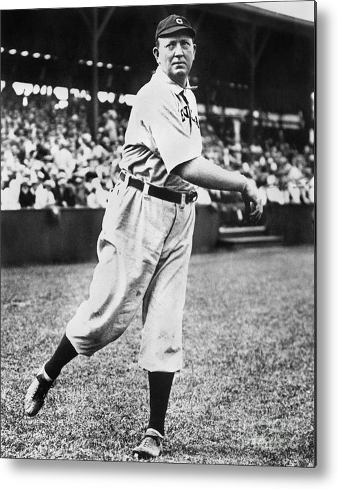 People Metal Print featuring the photograph Cy Young by National Baseball Hall Of Fame Library