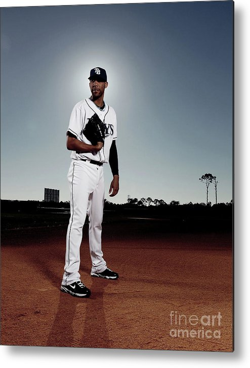 Media Day Metal Print featuring the photograph David Price by Nick Laham