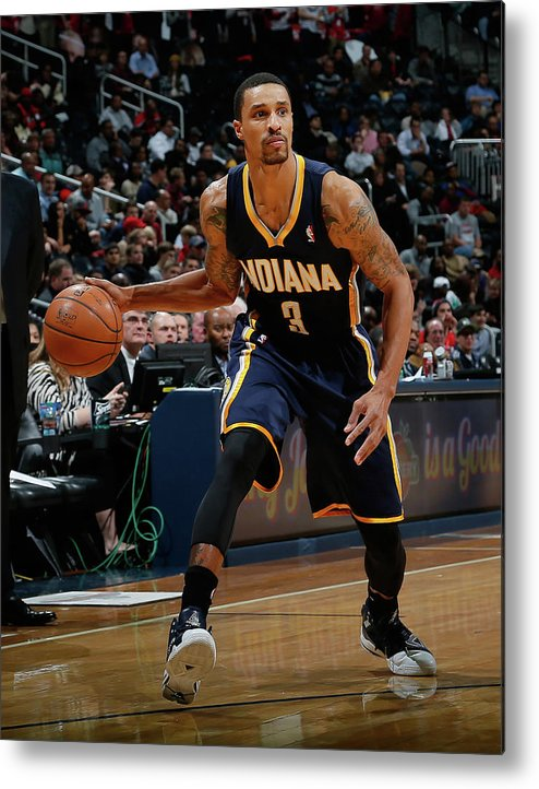 Atlanta Metal Print featuring the photograph George Hill by Kevin C. Cox