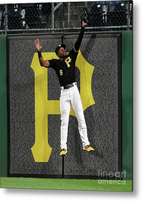 People Metal Print featuring the photograph Howie Kendrick and Starling Marte by Justin Berl