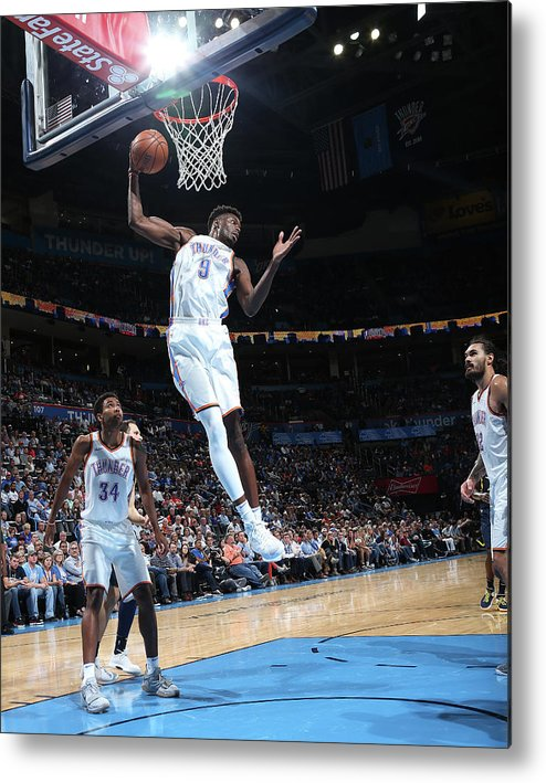 Nba Pro Basketball Metal Print featuring the photograph Jerami Grant by Layne Murdoch