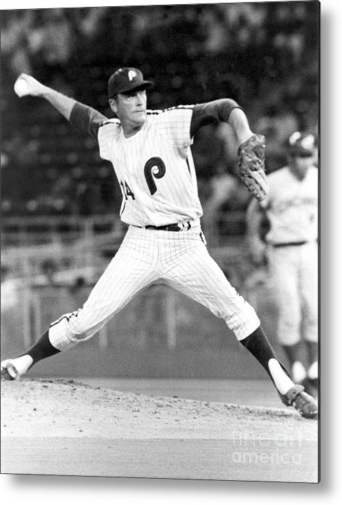 People Metal Print featuring the photograph Jim York by National Baseball Hall Of Fame Library