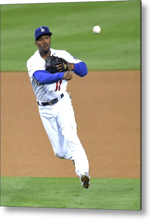 People Metal Print featuring the photograph Jimmy Rollins by Harry How