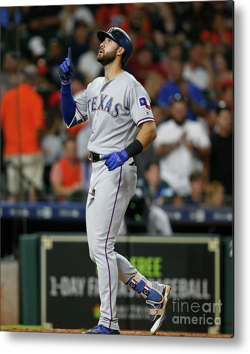 Ninth Inning Metal Print featuring the photograph Joey Gallo by Bob Levey