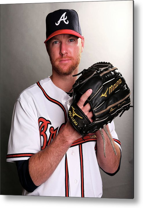 Media Day Metal Print featuring the photograph Jonny Venters by Elsa