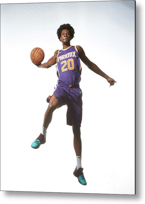 Nba Pro Basketball Metal Print featuring the photograph Josh Jackson by Nathaniel S. Butler