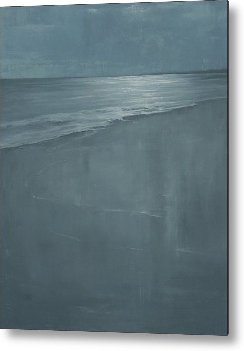 Metal Print featuring the painting Pacific by Mary Jo Van Dell