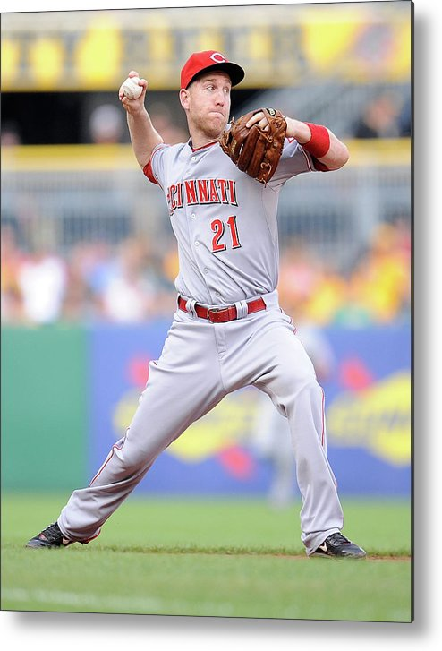 People Metal Print featuring the photograph Todd Frazier by Joe Sargent