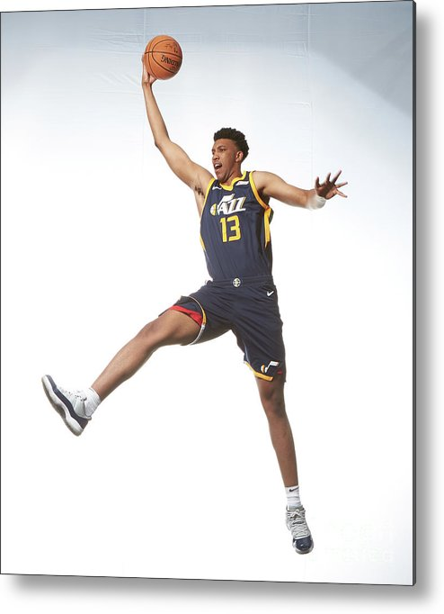 Nba Pro Basketball Metal Print featuring the photograph Tony Bradley by Nathaniel S. Butler