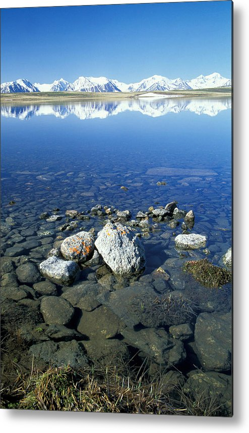 Hills Metal Print featuring the photograph Altai by Anonymous