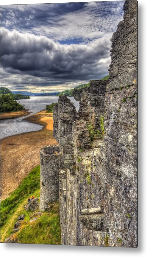 Kilchurn Metal Print featuring the photograph Kilchurn Castle Scotland by Colin Woods