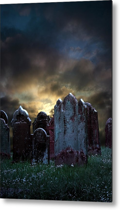 Bloody Metal Print featuring the photograph Nightmare Hill by Svetlana Sewell