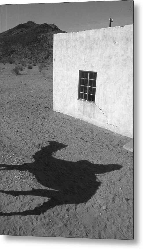 Desert Metal Print featuring the photograph South Africa 1995 by Rolf Ashby