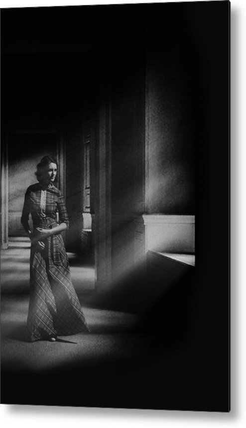 Woman Metal Print featuring the photograph Untitled by ?ntonik