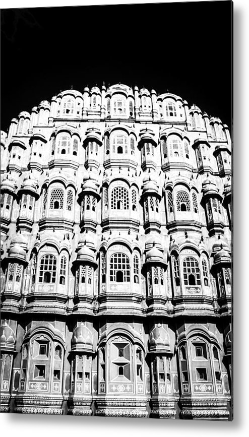 Abode Metal Print featuring the photograph Wind Palace Jaipur by Chris Smith