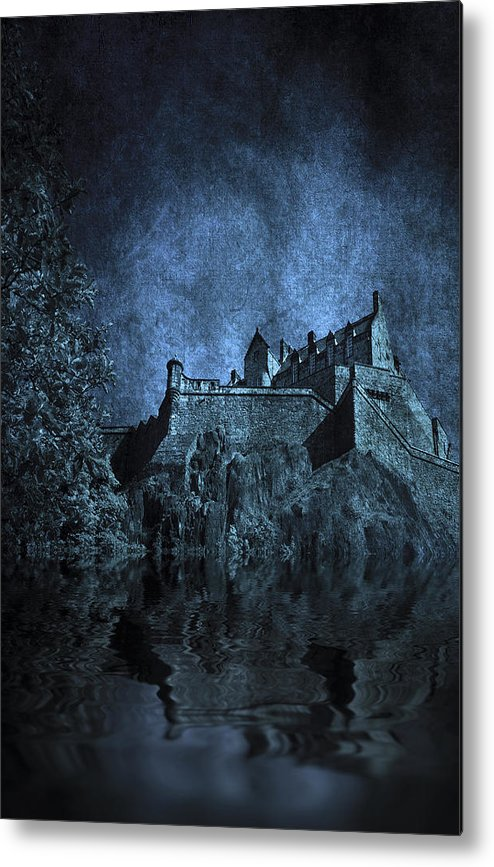 Abbey Metal Print featuring the photograph Dark Castle by Svetlana Sewell
