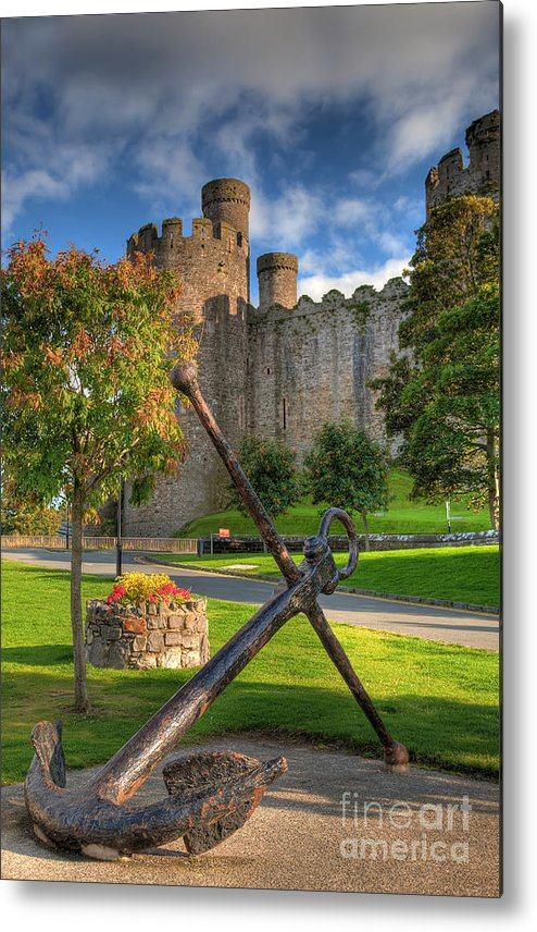 Ancient Metal Print featuring the photograph The Anchor by Adrian Evans