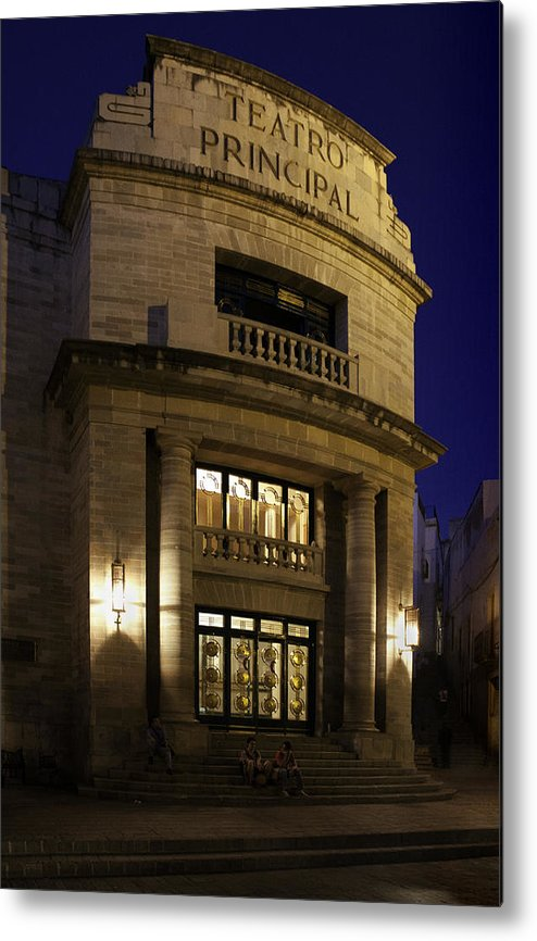 Theater Metal Print featuring the photograph The Meeting Place by Lynn Palmer