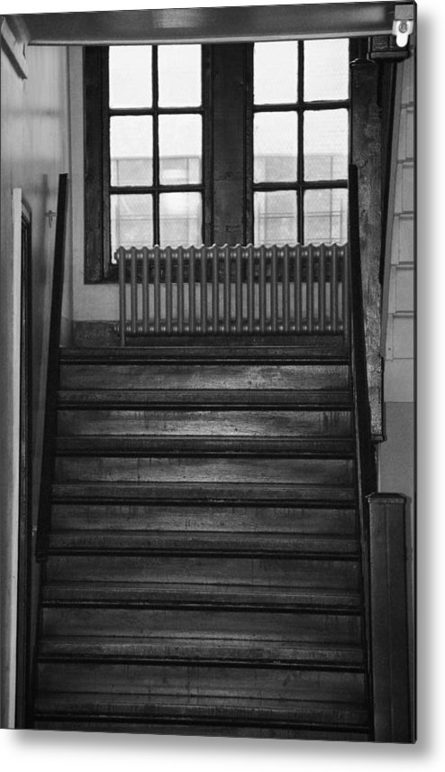 Architecture Metal Print featuring the photograph The Stairway by Rob Hans