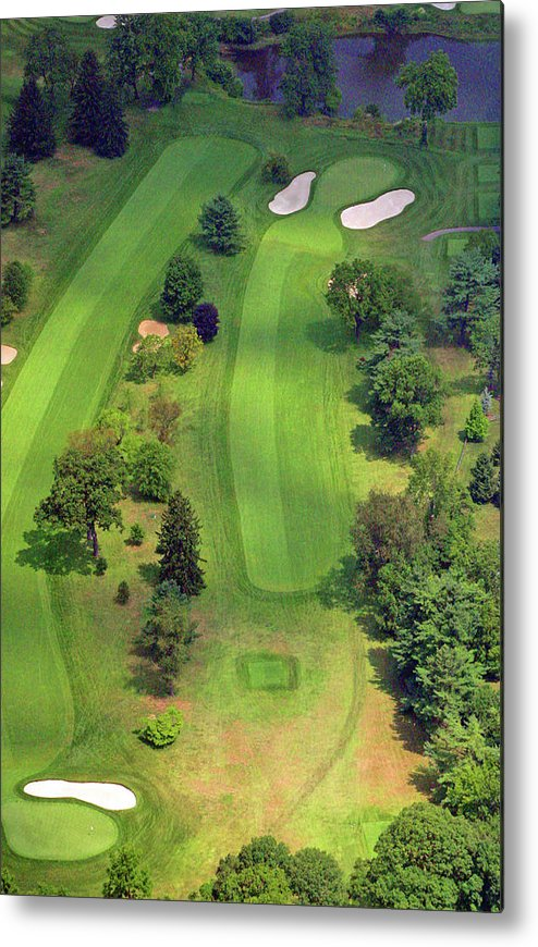 Sunnybrook Metal Print featuring the photograph 4th Hole Sunnybrook Golf Club 398 Stenton Avenue Plymouth Meeting Pa 19462 1243 by Duncan Pearson