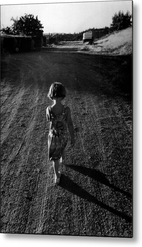 Childhood Metal Print featuring the photograph Amador by A paul Cartier