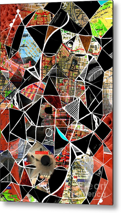 Barcelona Metal Print featuring the digital art Barcelona by Andy Mercer