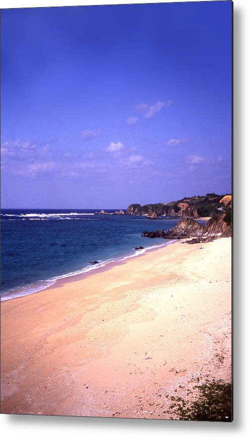 Okinawa Metal Print featuring the photograph Okinawa Beach 22 by Curtis J Neeley Jr