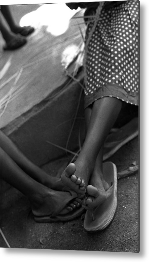 Rwanda Metal Print featuring the photograph Orphan Feet by Marcus Best