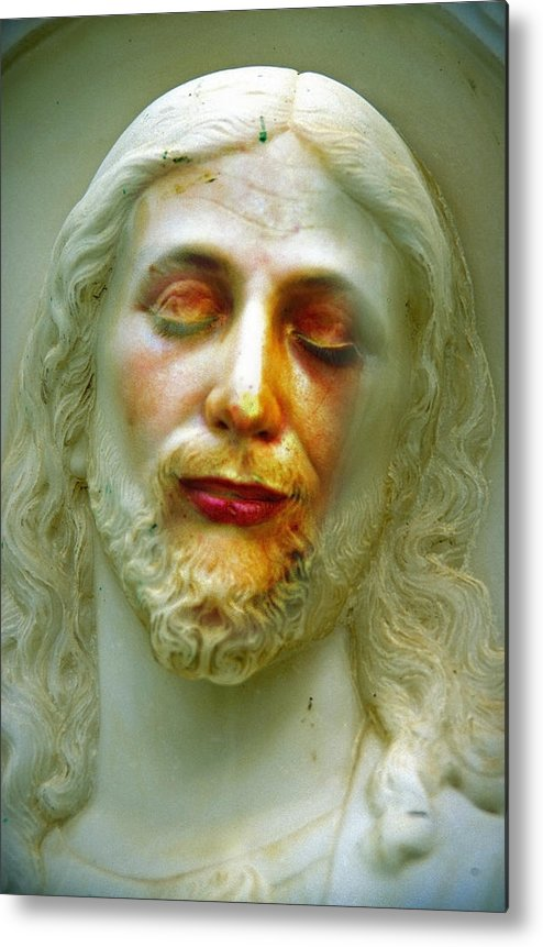 Jesus Metal Print featuring the photograph Shesus by Skip Hunt