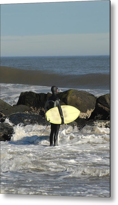 Surfer Art Metal Print featuring the photograph Surfing 50 by Joyce StJames