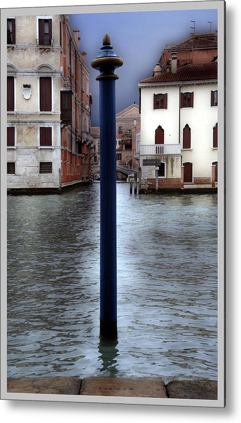Venice Metal Print featuring the photograph Venice by Guy Ciarcia