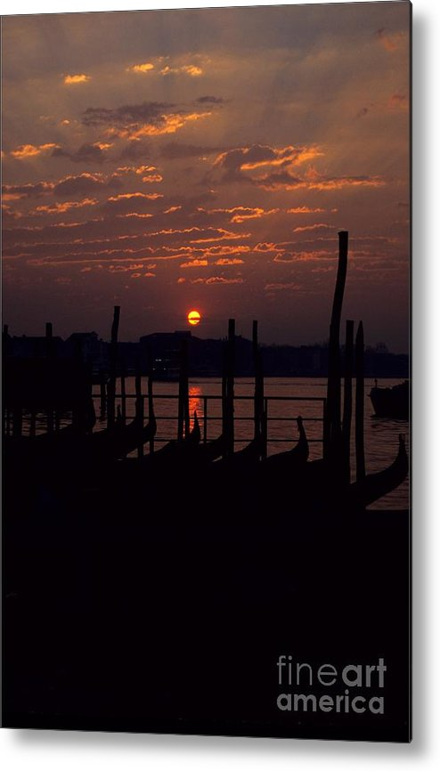 Venice Metal Print featuring the photograph Venice Sunrise by Michael Henderson