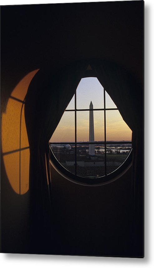 Americana Metal Print featuring the photograph View Of The Washington Monument by Kenneth Garrett