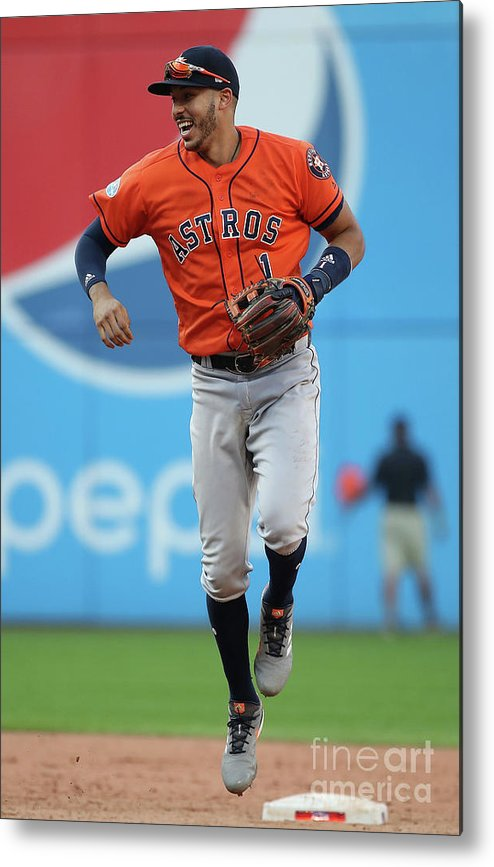 People Metal Print featuring the photograph Carlos Correa by Gregory Shamus