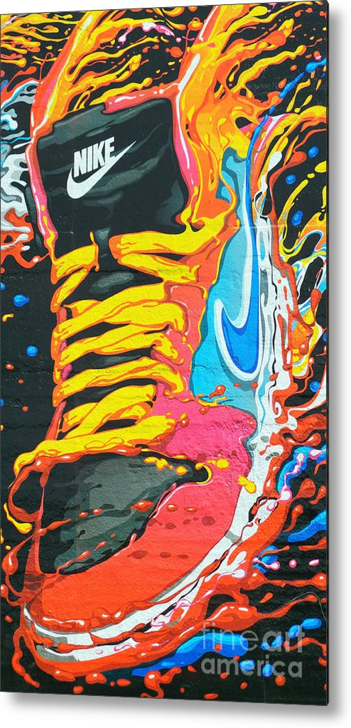 Shoes Metal Print featuring the photograph Burning To Do It In Portland by David Bearden