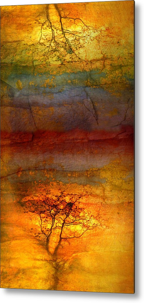 Trees Metal Print featuring the photograph The Soul Dances Like A Tree In The Wind by Tara Turner