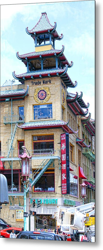 Chinatown Metal Print featuring the photograph Chinatown by Jay Hooker