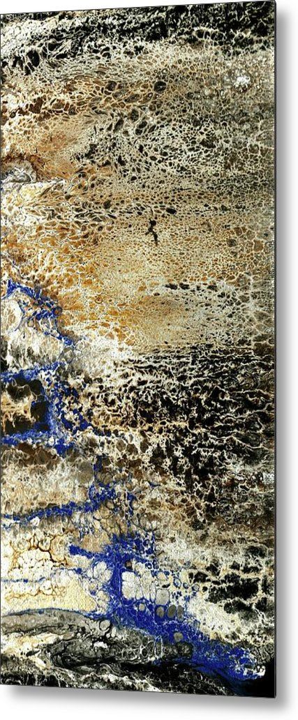 Art Metal Print featuring the mixed media Untitled by Shania Wright