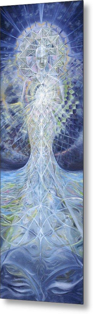 Jerod Kytah Metal Print featuring the painting Ethereal Elemental by Jerod Kytah