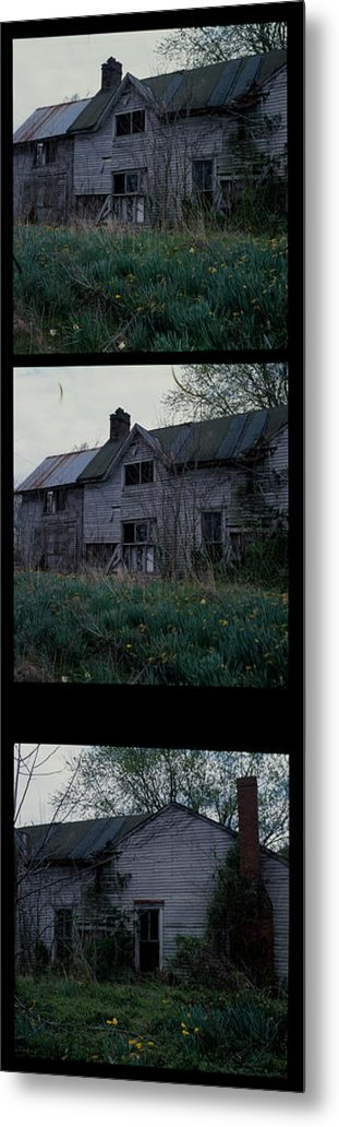 Home Place Metal Print featuring the photograph Home Place In Spring by George Ferrell